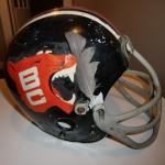 BC Lions Game Used Helmet