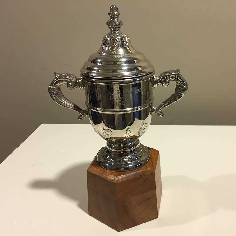 Clarence Campbell Conference Trophy Full View