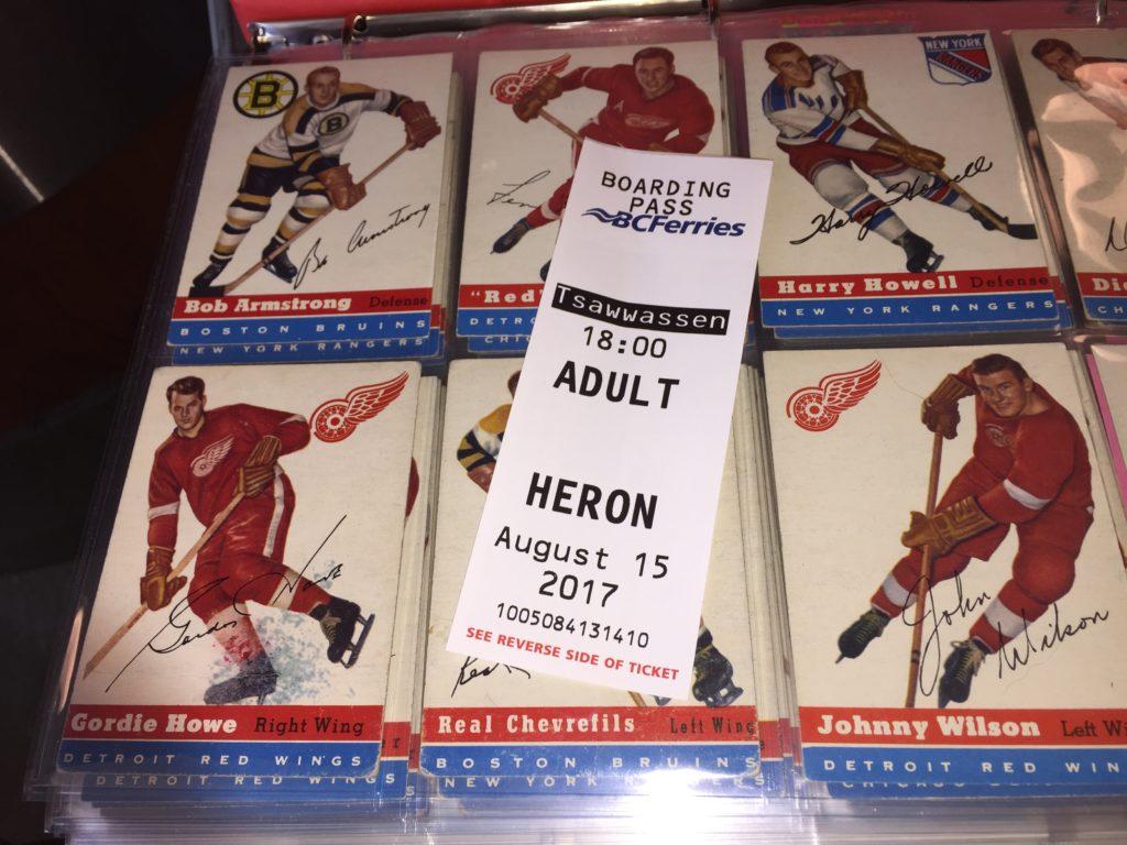 1954-55 Topps Hockey