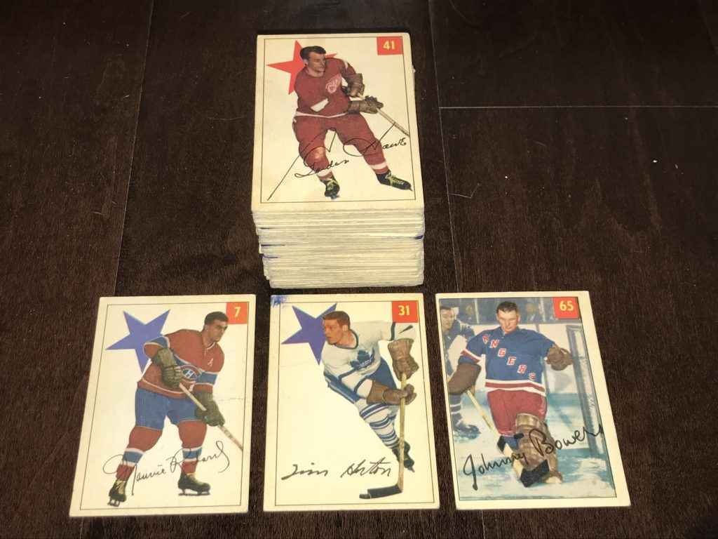 Buying Card Collections - 1954-55 Parkurst Parkies