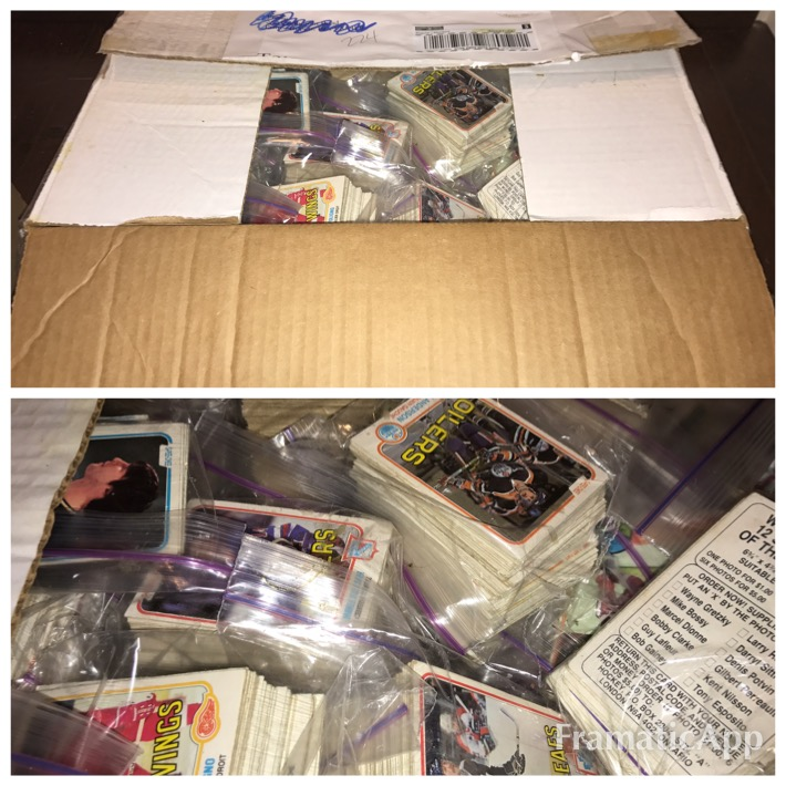 Buying Card Collections - 1980's OPC Hockey Cards
